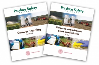 English and Spanish Grower Training manual covers
