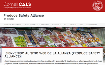 Welcome to the Produce Safety Alliance website! | Produce Safety